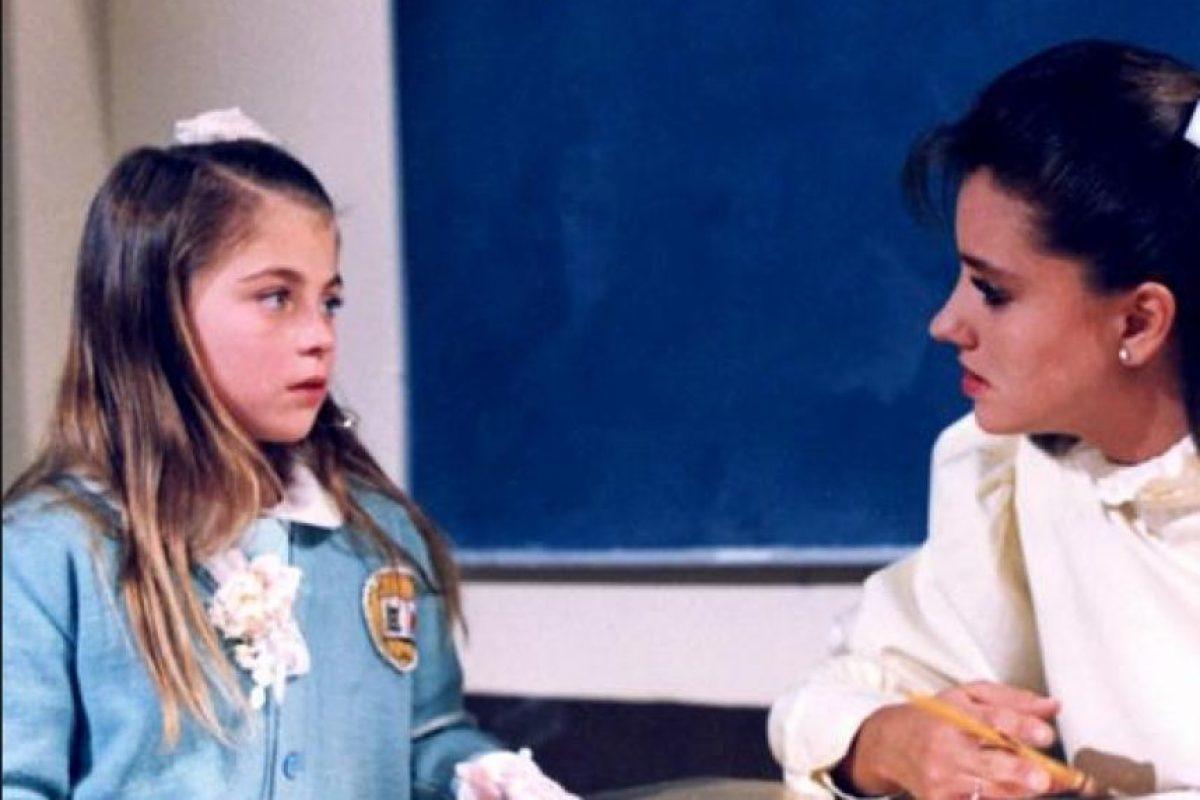 """1989, """"Carrusel"""" Foto:Televisa. Imagen Por:"""