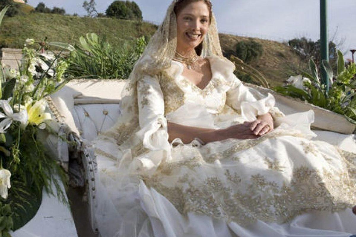 """2006, Adela Noriega, """"Fuego en la sangre"""" Foto:Televisa. Imagen Por:"""