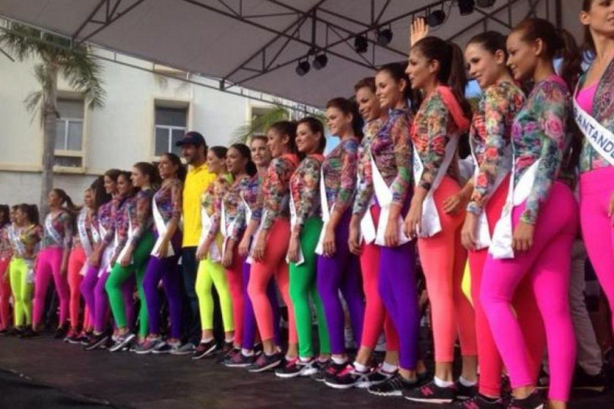 Esta vez el concurso decidió acudir a los diseñadores nacionales Foto:Twiter/ReinadoColombia/Facebook. Imagen Por: