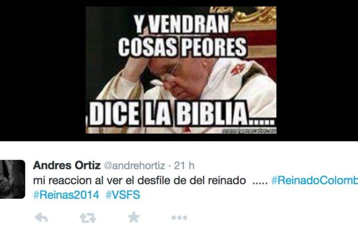 El desfile en traje de baño de las candidatas a Señorita Colombia fue ampliamente criticado en redes sociales Foto:Twitter. Imagen Por: