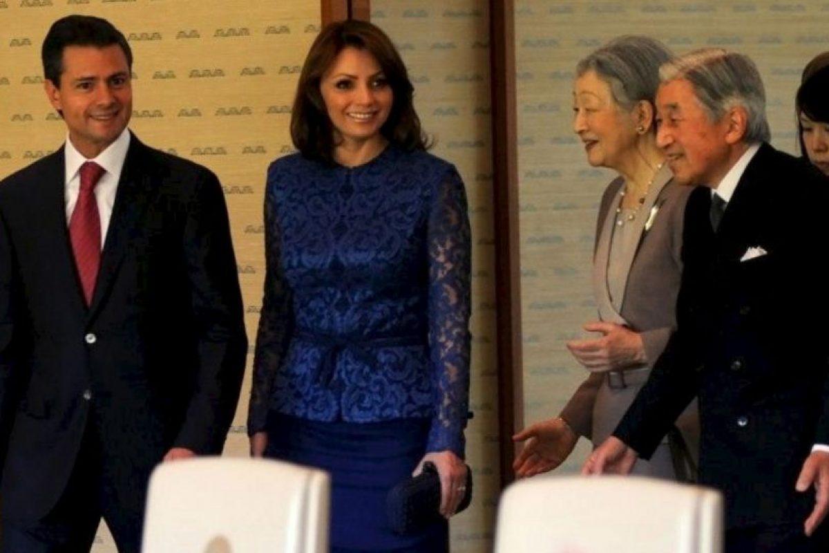 """""""Ahora hace bien en ir de acuerdo con la ocasión"""" Foto:Página oficial Angélica Rivera. Imagen Por:"""