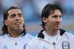 Carlos Tévez y Lionel Messi se reencontrarán en la albiceleste. Foto:Getty Images. Imagen Por: