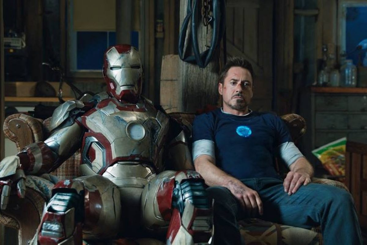 "Robert Downey Jr. en ""Iron Man"" Foto: Facebook. Imagen Por:"