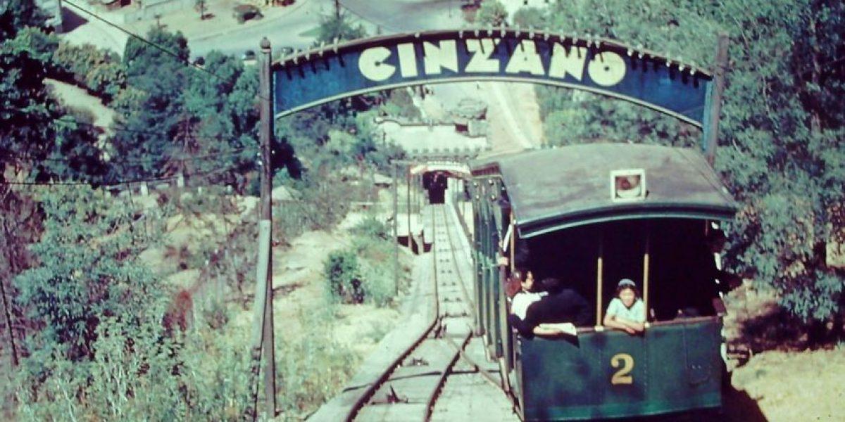 Galería: Así fue la construcción del Funicular del San Cristóbal hace casi 90 años