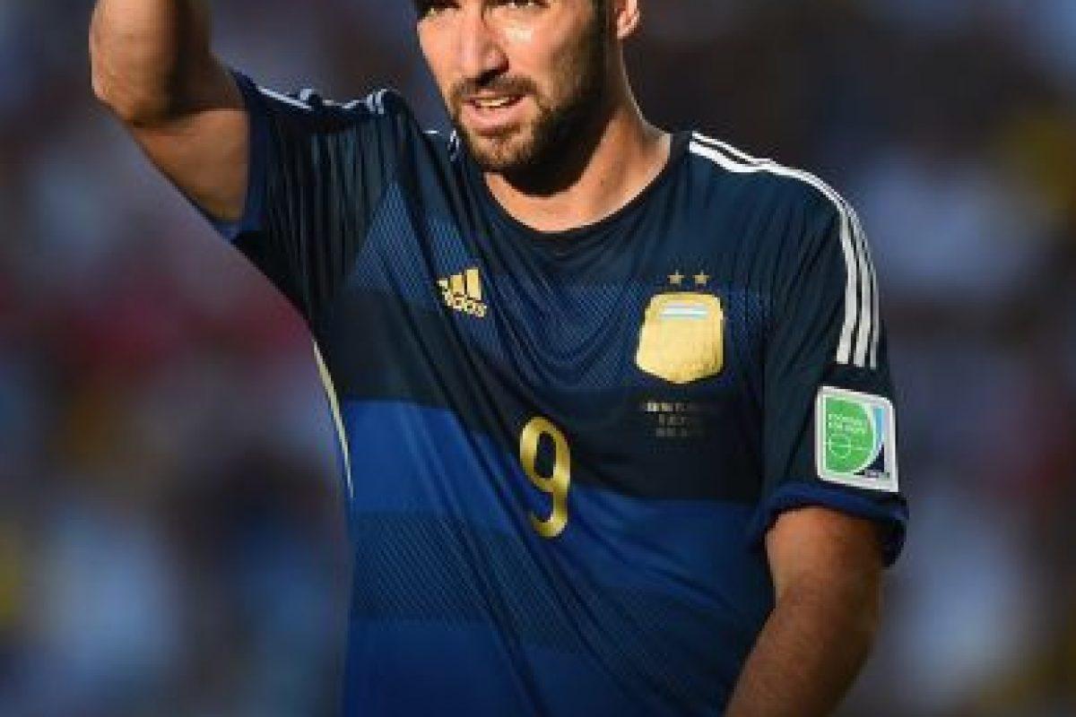 Gonzalo Higuaín Foto:Getty Images. Imagen Por: