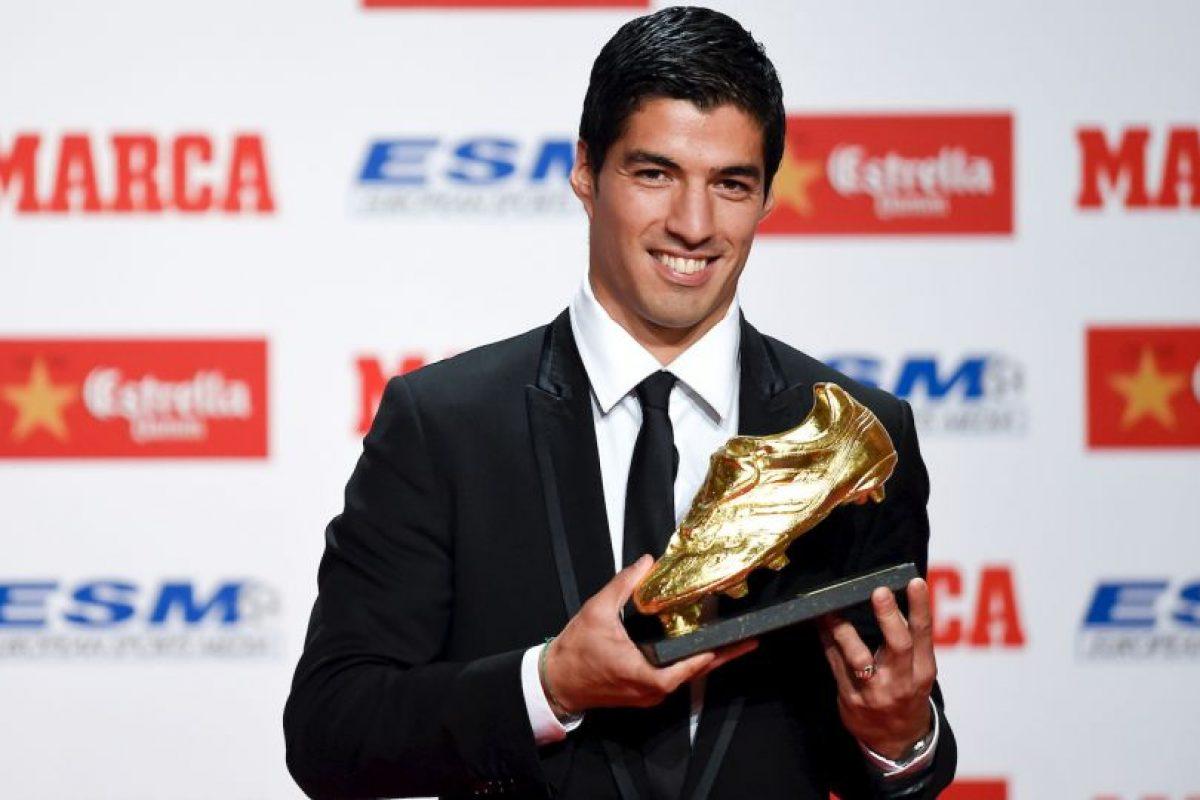 El mes pasado recibió la Bota de Oro como el máximo goledor en las Ligas europeas Foto:Getty. Imagen Por: