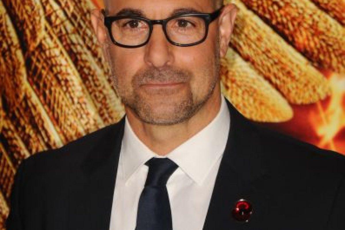 Caesar Flickerman, interpretado por el estadounidense Stanley Tucci. Foto:Getty Images. Imagen Por: