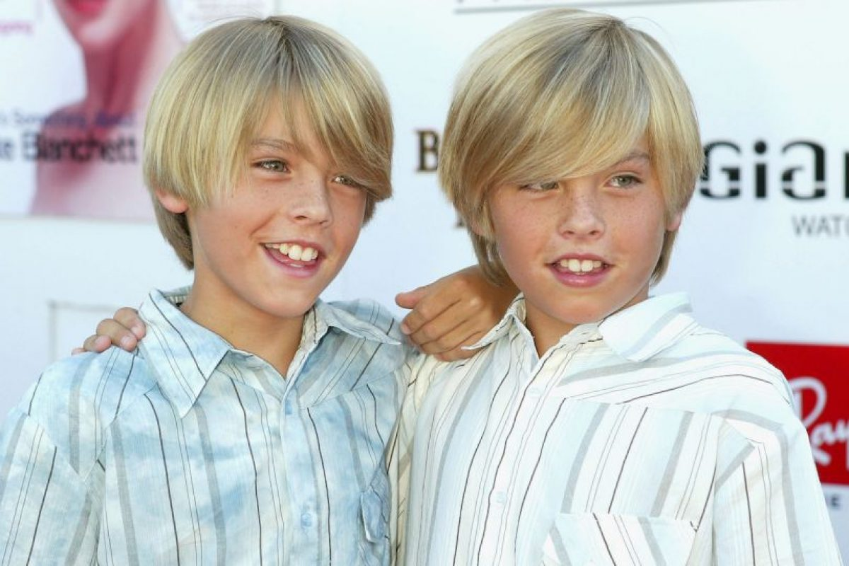 Dylan y Cole Sprouse Foto:Getty Images. Imagen Por: