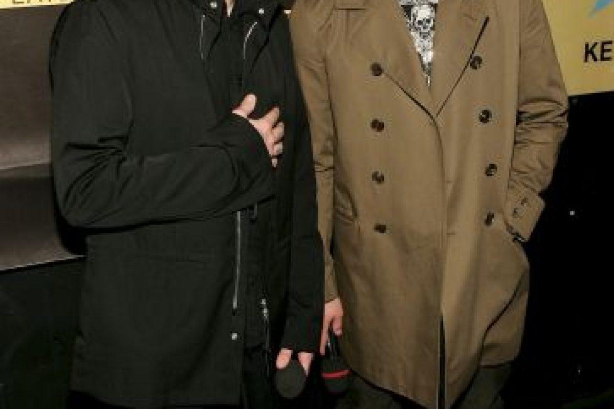 """Los famosos integrantes y líderes de la banda de rock """"Good Charlotte"""" Foto:Getty Images. Imagen Por:"""