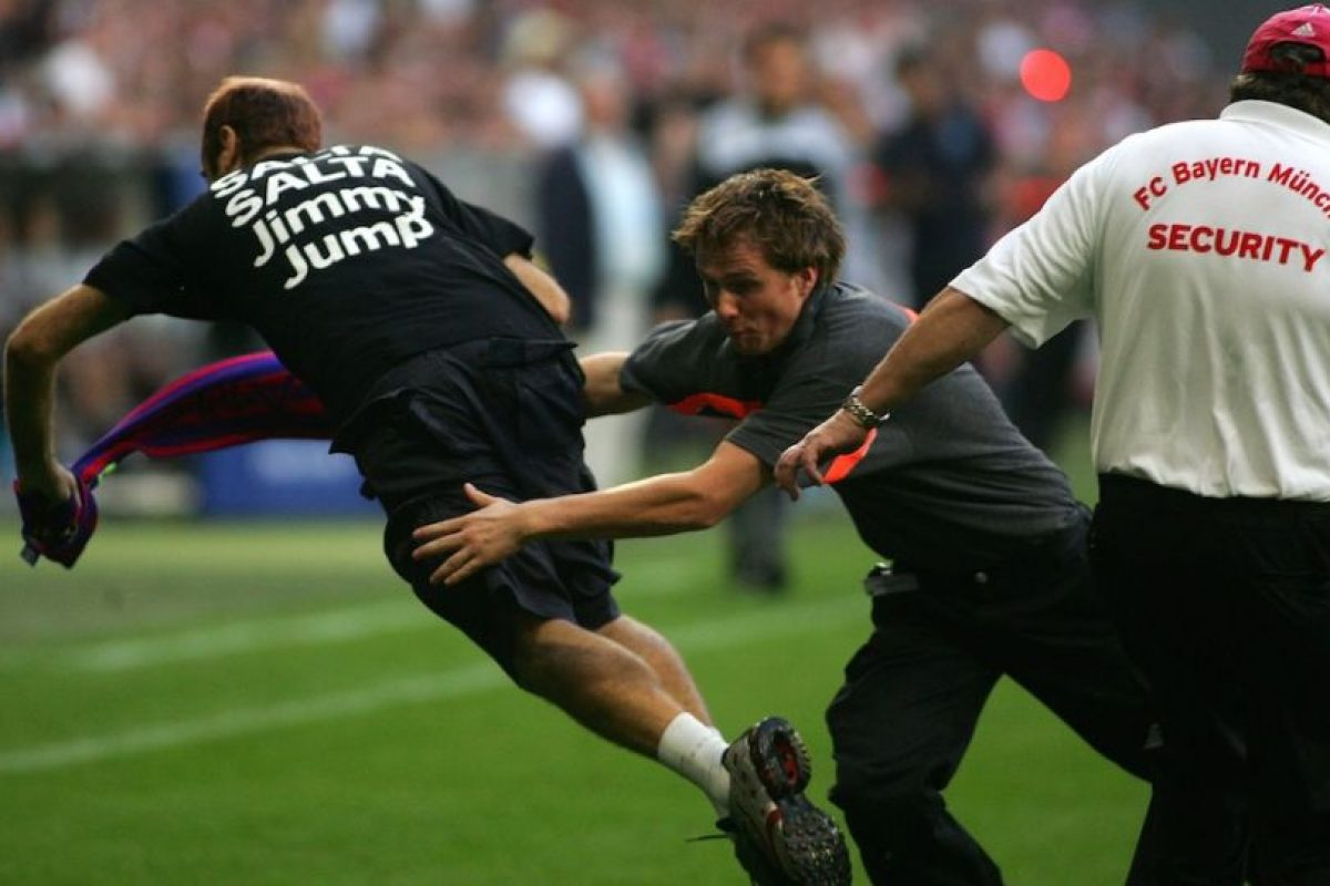Jimmy fue detenido de esta forma. Foto:Getty Images. Imagen Por: