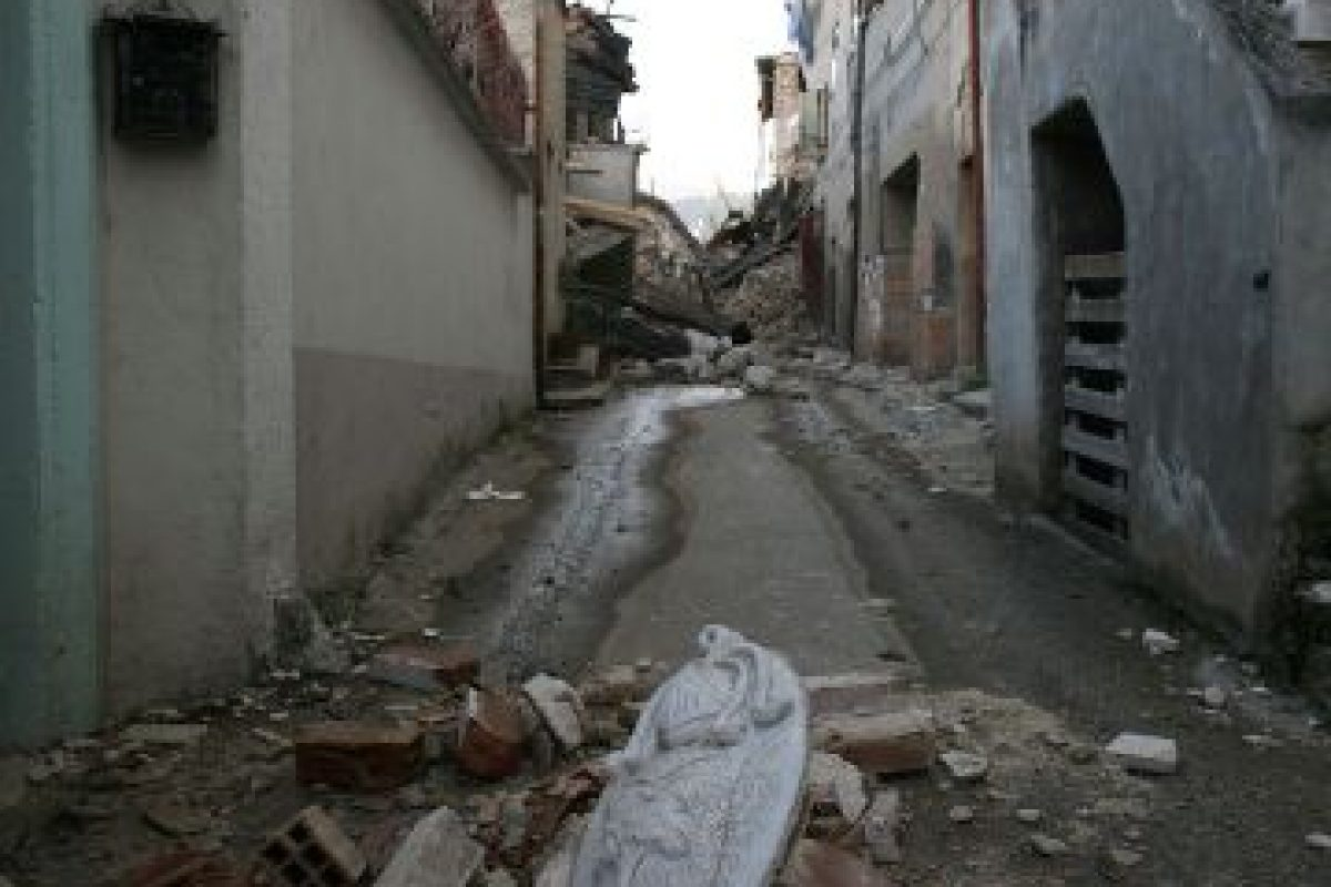 El terremoto cobró al vida de 309 personas. Foto:Getty. Imagen Por: