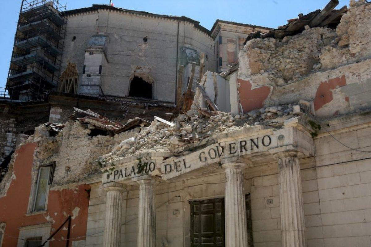 Italia recibió ayuda internacional para poder reconstruir la zona afectada. Foto:Getty. Imagen Por: