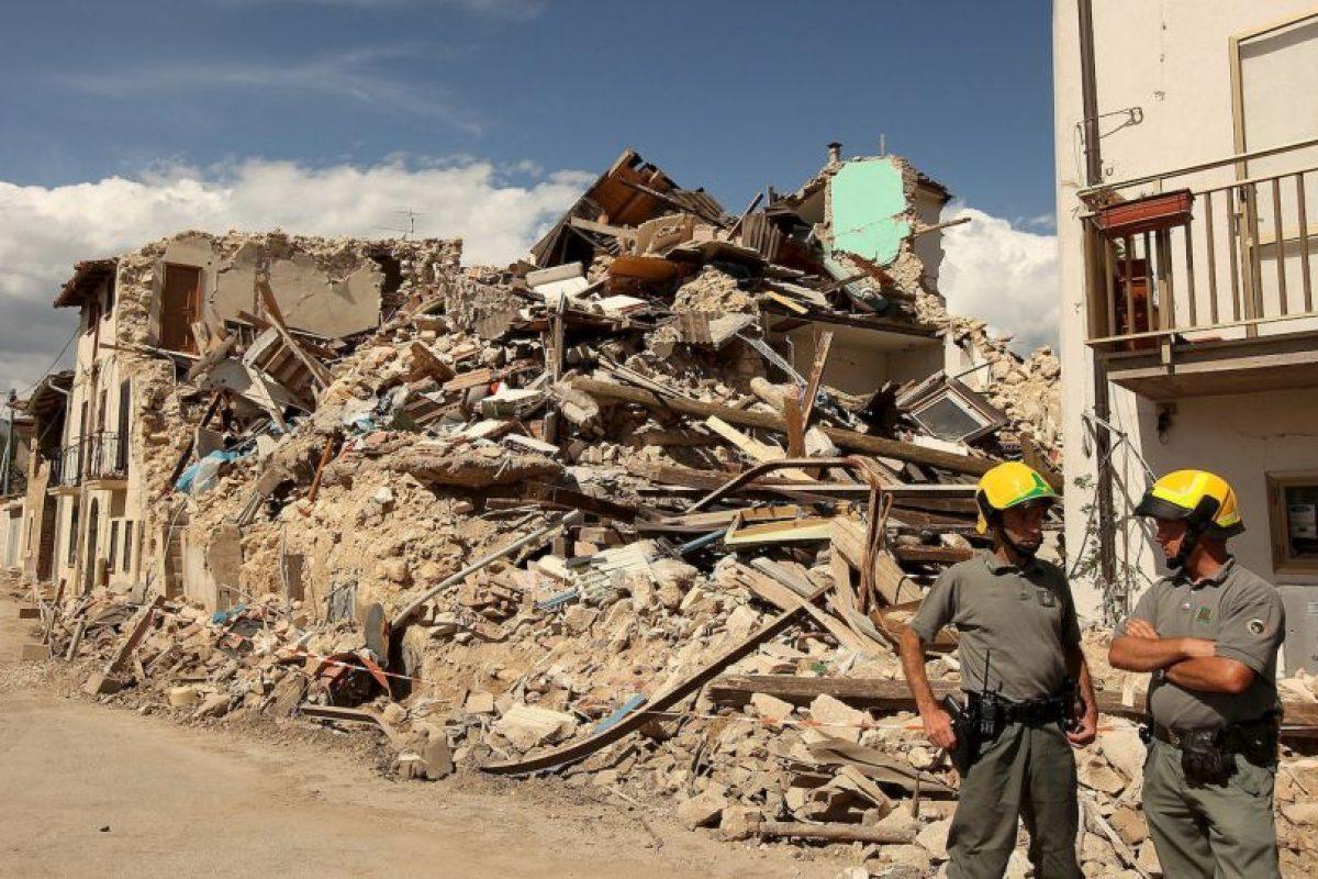 Réplicas de hasta cinco grados se sintieron en los días posteriores al sismo. Foto:Getty. Imagen Por: