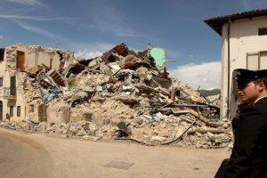El sismo ocurrió el 6 de abril de 2009. Foto:Getty. Imagen Por: