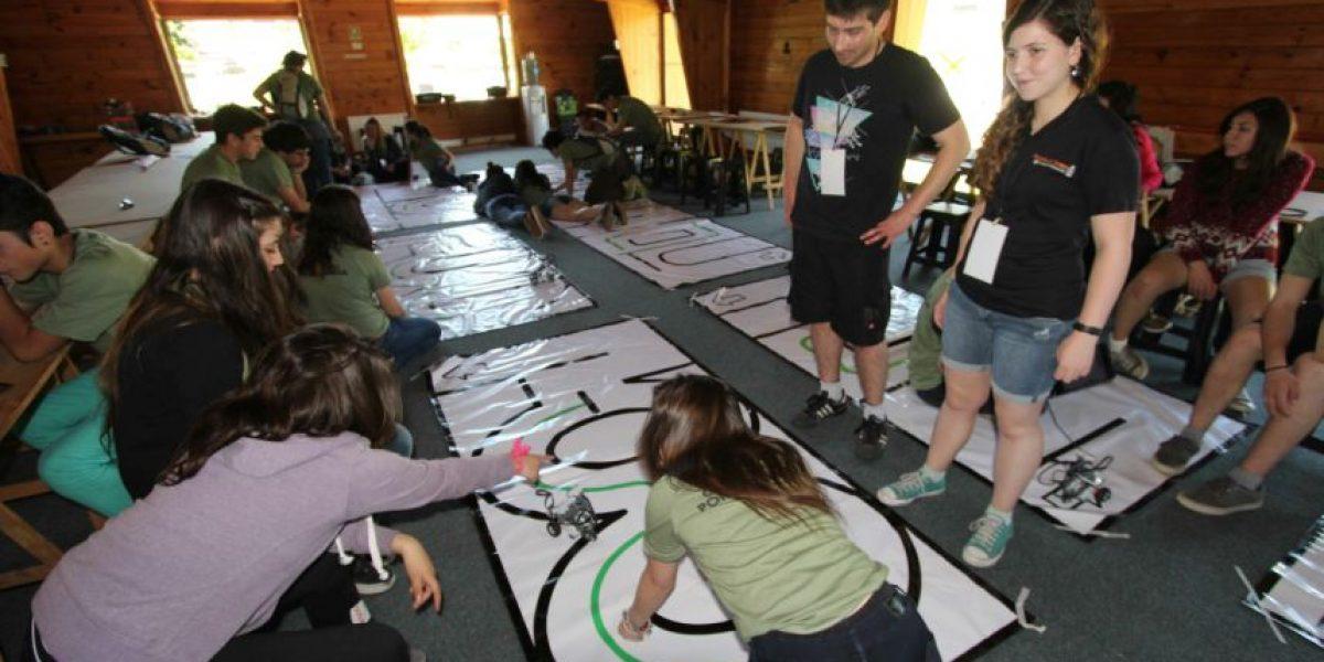 Comenzó el campamento que busca acercar la ciencia y la investigación a alumnos de enseñanza media