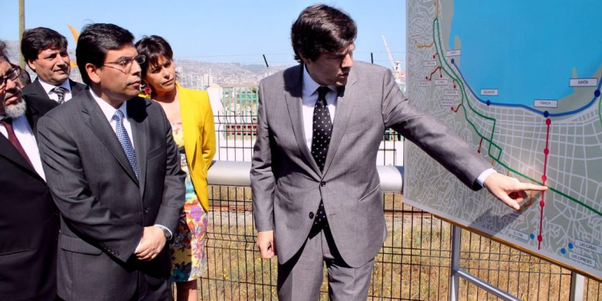 Gobierno presenta las iniciativas de inversión en infraestructura para el transporte de Valparaíso