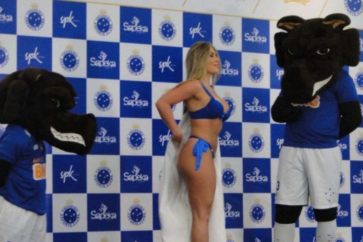 Mira las mejores imágenes de la presentación Foto:cruzeiro.com. Imagen Por: