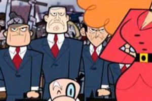 """En la serie """"The Powerpuff Girls"""", la secretaria del alcalde no mostraba su rostro. Foto:YouTube. Imagen Por:"""