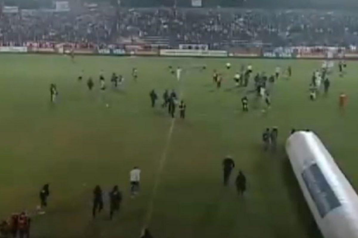 Pero al final de duelo, las cosas se salieron de control Foto:Youtube: tremolostv. Imagen Por: