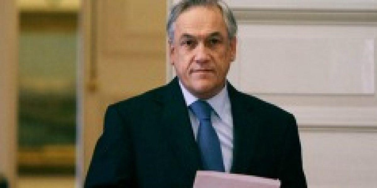 Piñera respondió por escrito a preguntas de caso Cascadas de comisión investigadora de la Cámara