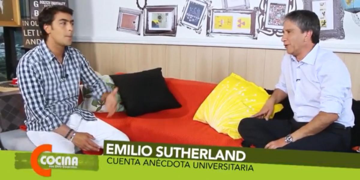 El tío Emilio contó divertida anécdota universitaria