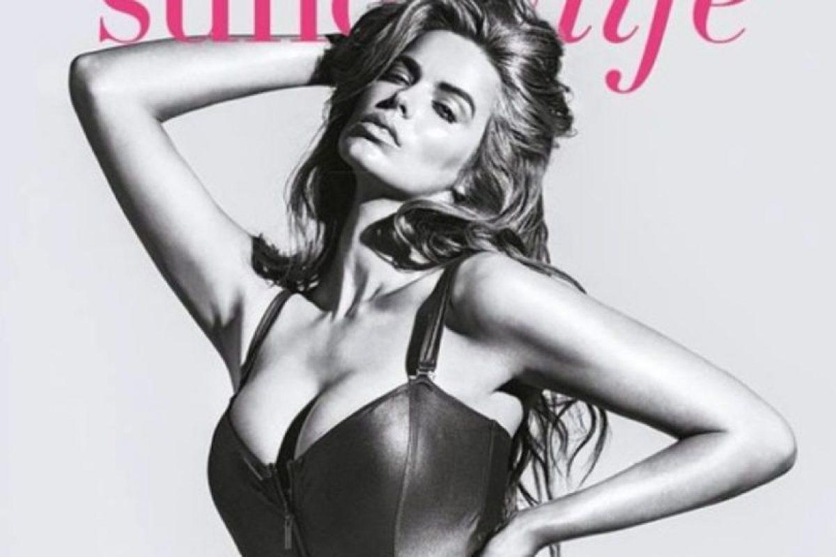 """Es talla M americana, pero para las marcas de moda es otra modelo """"plus"""" Foto:Facebook/ Robyn Lawley. Imagen Por:"""