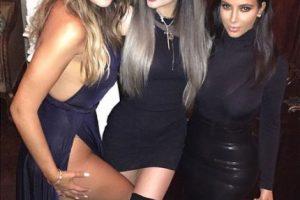 Khloe Kardashian, Kylie Jenner y Khloe Kardashian Foto:Instagram @frenchmontana. Imagen Por: