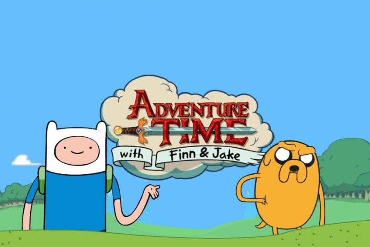 """""""Hora de Aventura"""" es uno de los shows más populares que ven tanto niños como adultos. Lo aman más los adultos. Foto:Cartoon Network. Imagen Por:"""