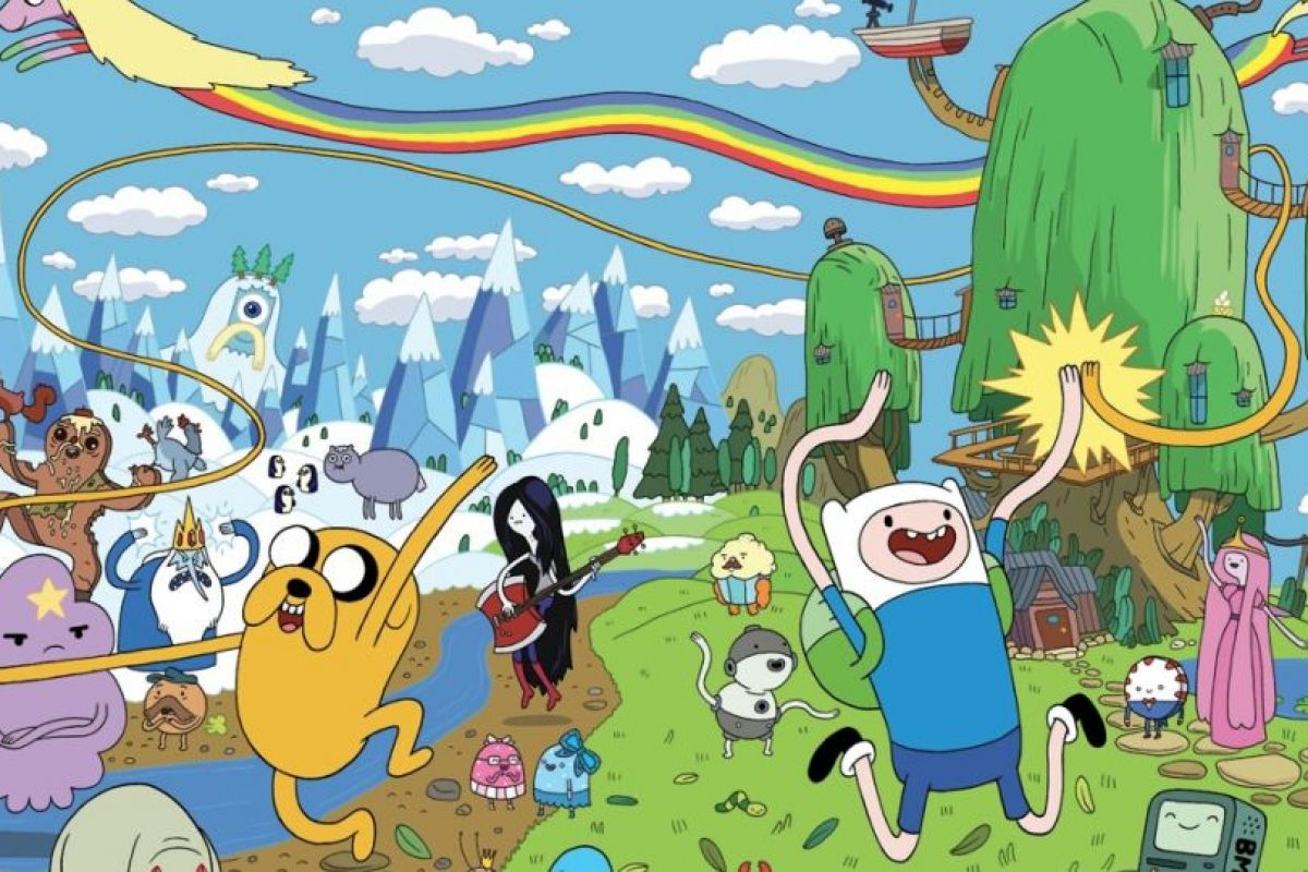 La alta tecnología y el absurdo son comunes. Foto:Cartoon Network. Imagen Por: