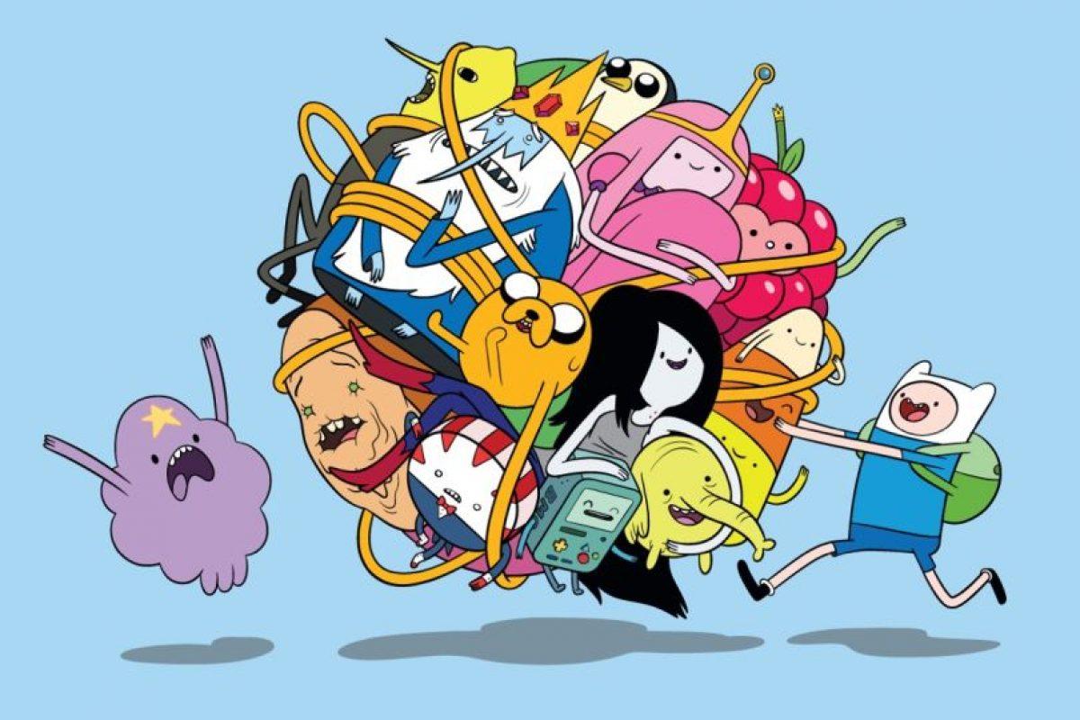 La trama evoluciona cuando el mundo se destruye por una guerra nuclear Foto:Cartoon Network. Imagen Por: