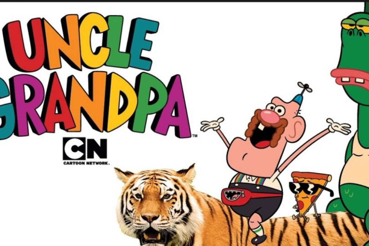 """""""Tío Grandpa"""" es la otra gran cuota de surrealismo que actualmente se transmite por Cartoon Network Foto:Cartoon Network. Imagen Por:"""