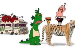 Fue creada en 2008 y se basa en el humor absurdo de Tex Avery Foto:Cartoon Network. Imagen Por:
