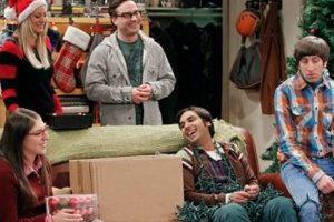"""Solo se escucha su voz Foto:Facebook """"The Big Bang Theory"""". Imagen Por:"""