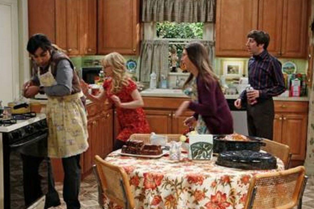 "No aparecía en pantalla Foto:Facebook ""The Big Bang Theory"". Imagen Por:"
