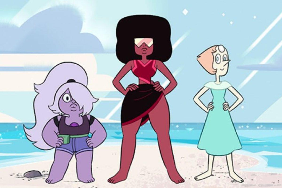 """Las """"Crystal Gems"""" tienen habilidades y poderes únicos. La madre de Steve era una de ellas. Foto:Cartoon Network. Imagen Por:"""