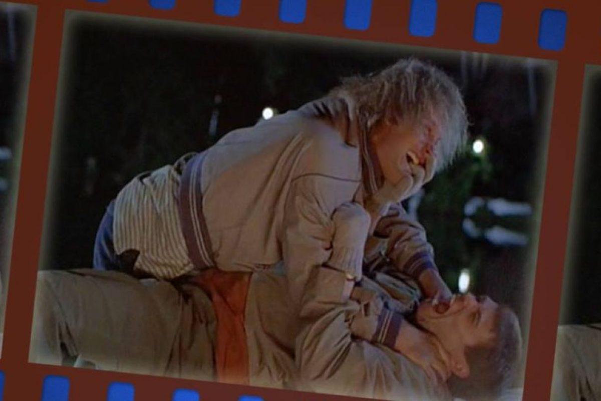 Este filme fue protagonizado por Jim Carrey y Jeff Daniels Foto:Facebook/Dumb and dumber. Imagen Por: