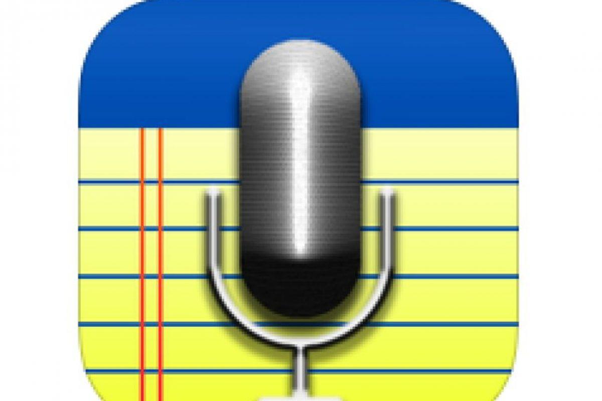 3. AudioNote- Esta herramienta sincroniza las notas a las grabaciones de audio. El estudiante grabará audio mientras toma notas. Luego podrá puede tocar una nota para ir a la parte precisa de la grabación. De esta forma, Está disponible para Android y para IOS. Foto:Captura de pantalla. Imagen Por: