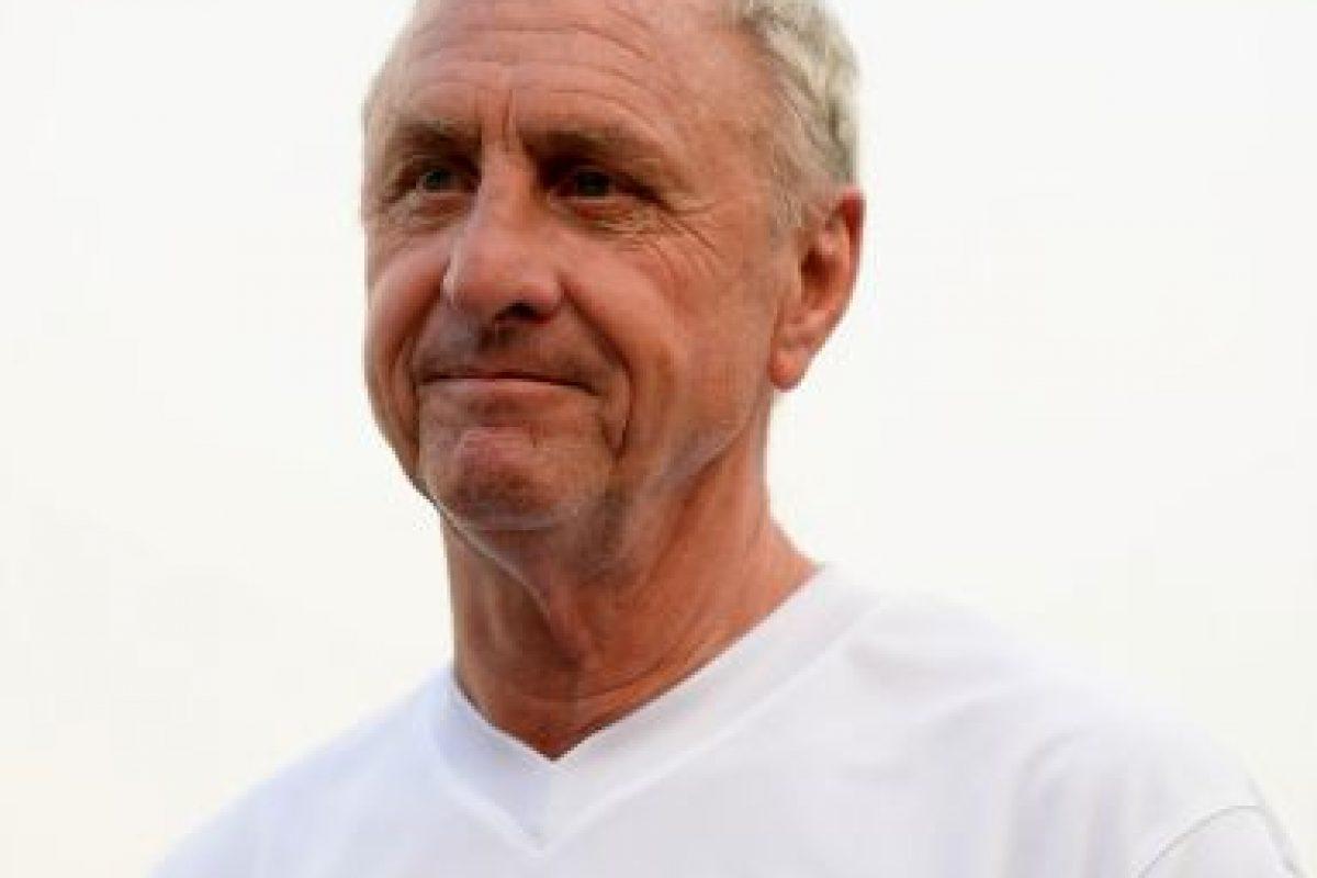 El ex jugador y entrenador holandés Johan Cruyff Foto:Getty. Imagen Por: