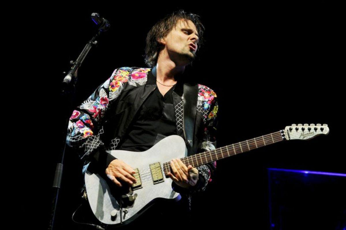 Tiene a su hermano perdido en Matthew Bellamy, de la banda Muse Foto:Getty. Imagen Por: