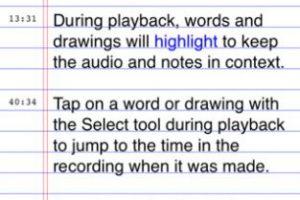 AudioNote Foto:Captura de pantalla. Imagen Por: