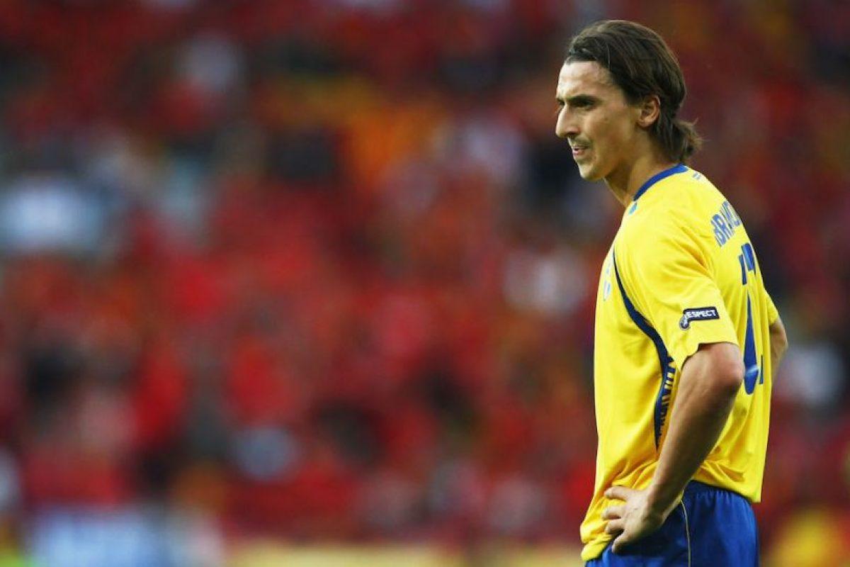 Tras el Mundial 2006, Zlatan Ibrahimović renunció a la selección sueca al ser expulsado de una concentración debido a llegar más tarde de la hora señalada. En 2007 limó asperezas con el entonces entrenador y ahora continúa jugando para los escandinavos. Foto:Getty Images. Imagen Por: