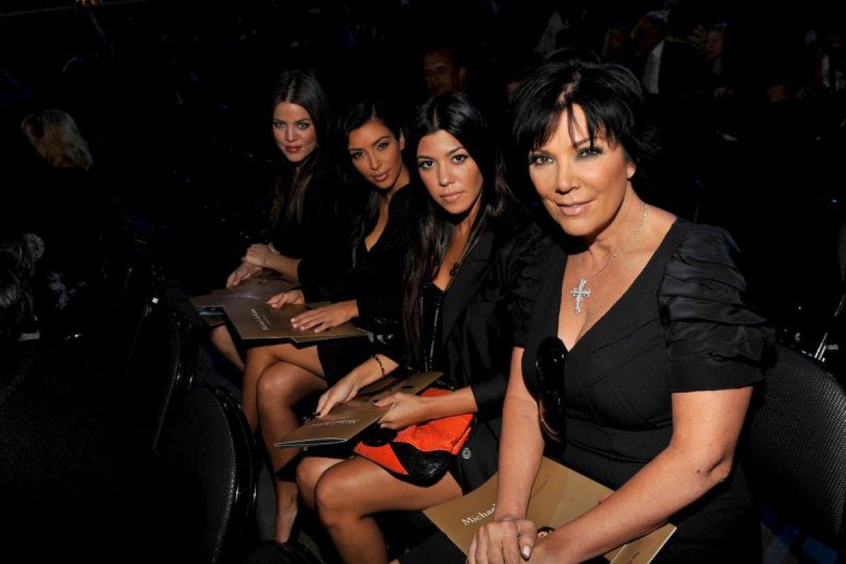 Kris Jenner, Kim, Kourtney y Khloe Kardashian Foto:Getty Images. Imagen Por: