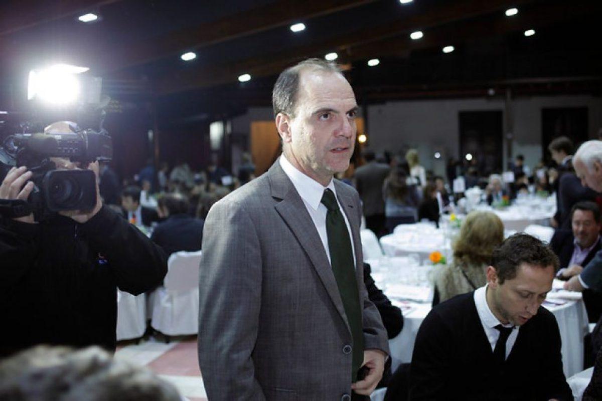 El Pdte. de la mesa directiva de RN, Cristián Monckeberg, que aprobó la Comisión de Diversidad Sexual del partido. Foto:Agencia UNO. Imagen Por: