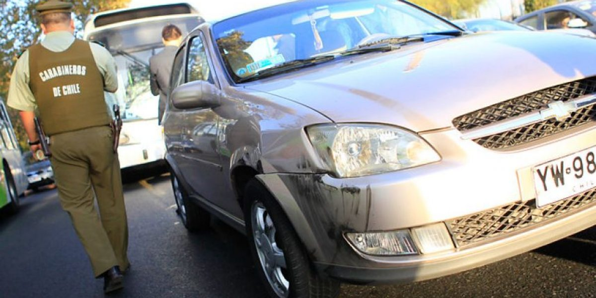 Semáforos apagados generan alta congestión en Macul con Irarrázaval