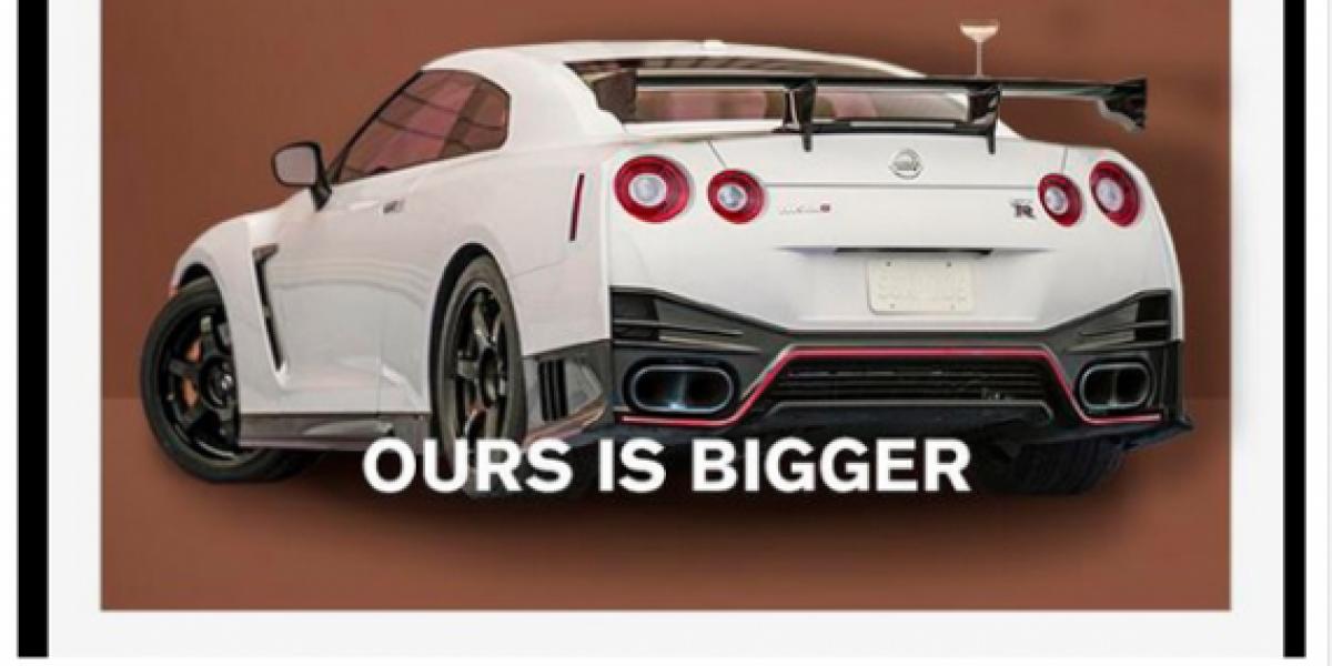 Nissan compara a uno de sus autos con Kim Kardashian