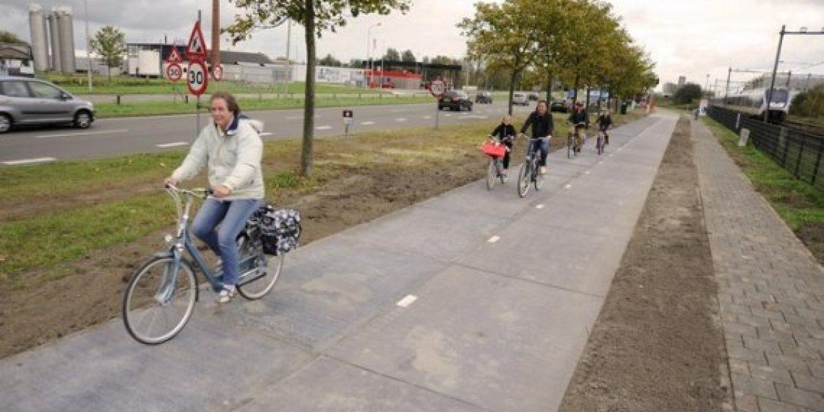 Autopista solar ya es una realidad en Holanda