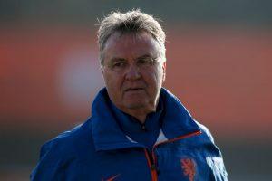 Guus Hiddink, DT de la Selección de Holanda Foto:Getty. Imagen Por: