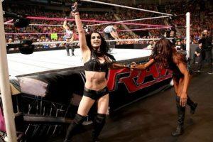 Paige fuera del ring es Saraya-Jade Bevis Foto:WWE. Imagen Por: