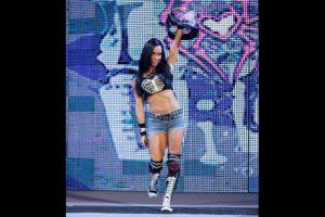 La campeona de las divas se llama April Jeanette Mendez-Brooks Foto:WWE. Imagen Por: