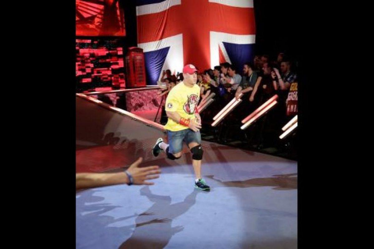 Su nombre completo es John Felix Anthony Cena Foto:WWE. Imagen Por: